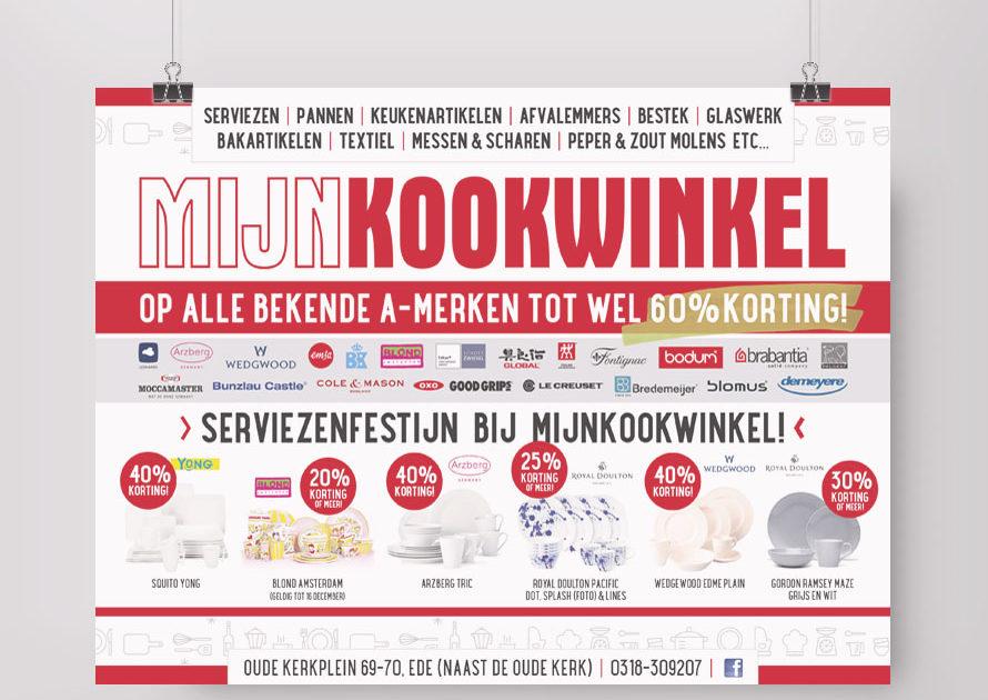 Advertentie MijnKookwinkel Ede